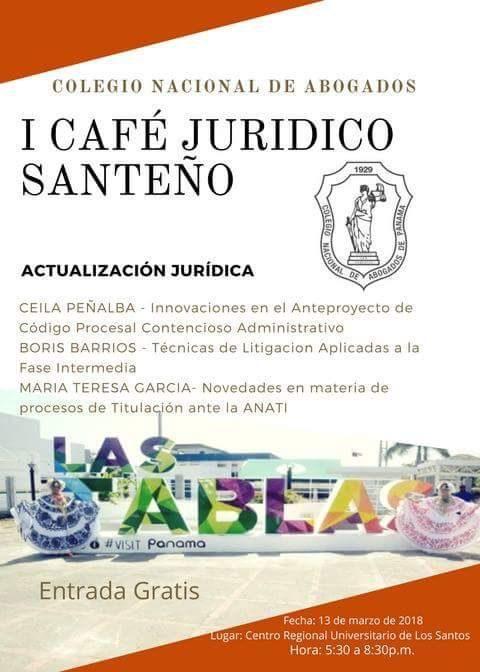 I Café Jurídico Santeño