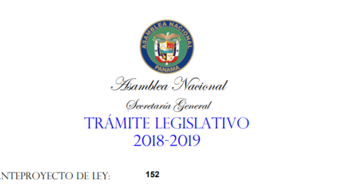 Trámite legislativo 2018 – 2019