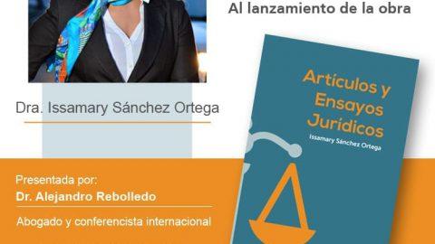 """Lanzamiento Obra """"Artículos y Ensayos Jurídicos"""""""