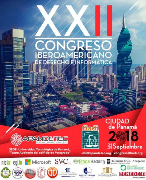 XXII Congreso Iberoamericano de Derecho e Informática