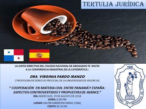 Tertulia Jurídica: Cooperación en Materia Civil entre Panamá y España