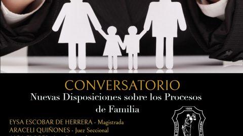 Nuevas Disposiciones sobre Procesos de Familia