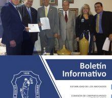 Boletín Informativo del 15 al 21 de Octubre de 2018