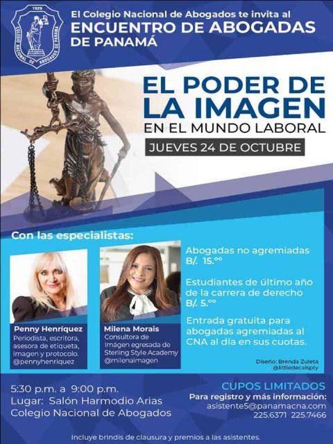 ENCUENTRO DE ABOGADAS DE PANAMÁ – EL PODER DE LA IMAGEN EN EL MUNDO LABORAL