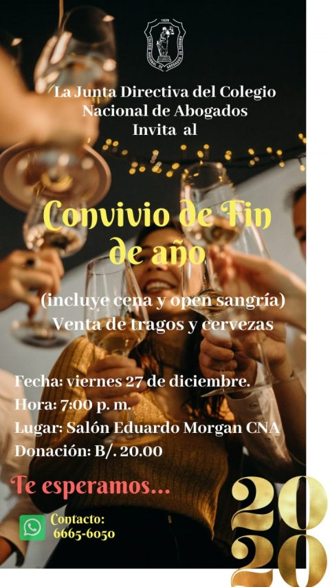 INVITACIÓN- CONVIVIO DE FIN DE AÑO