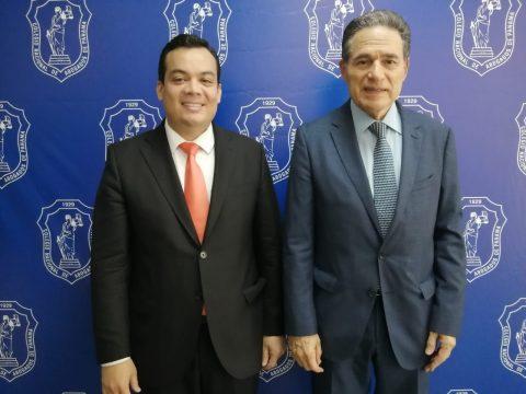 MINISTRO DEL CANAL DR. ARÍSTIDES ROYO VISITA EL COLEGIO NACIONAL DE ABOGADOS
