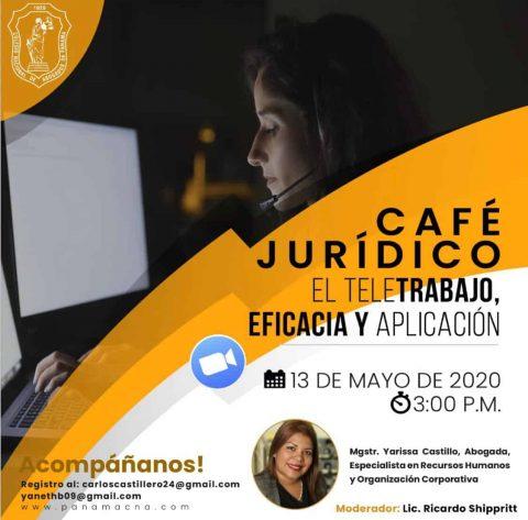 CAFÉ JURÍDICO: EL TELETRABAJO, EFICACIA Y APLICACIÓN