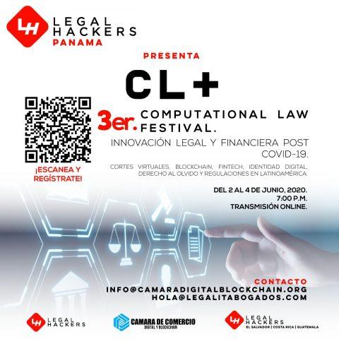 3er COMPUTATIONAL LAW FESTIVAL: INNOVACIÓN LEGAL Y FINANCIERA POST COVID-19