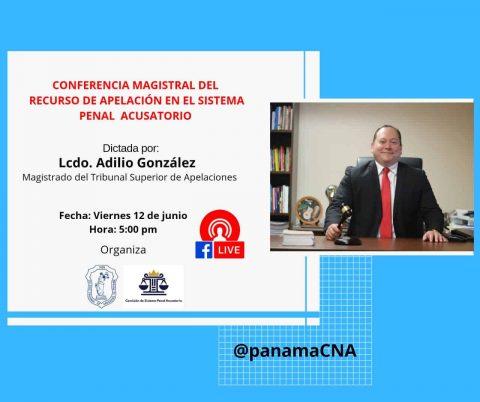 CONFERENCIA MAGISTRAL DEL RECURSO DE APELACIÓN EN EL SISTEMA PENAL ACUSATORIO
