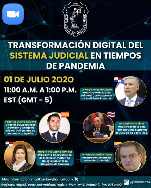 TRANSFORMACIÓN DIGITAL DEL SISTEMA JUDICIAL EN TIEMPOS DE PANDEMIA