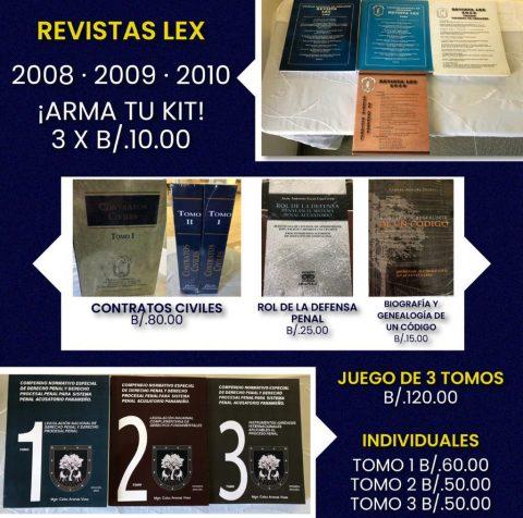 REVISTA LEX – ARMA TU COMBO 3 X B/.10.00