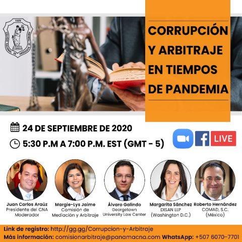 CORRUPCIÓN Y ARBITRAJE EN TIEMPOS DE PANDEMIA