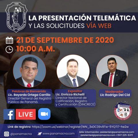 LA PRESENTACIÓN TELEMÁTICA Y LAS SOLICITUDES VÍA WEB