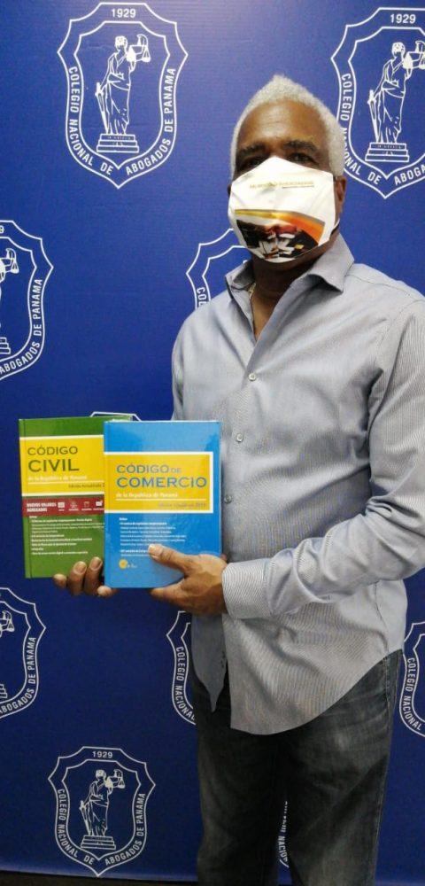 A partir de la fecha puedes compras libros y códigos en el Colegio Nacional de Abogados