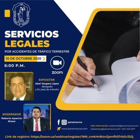 SERVICIOS LEGALES POR ACCIDENTE DE TRÁFICO TERRESTRE
