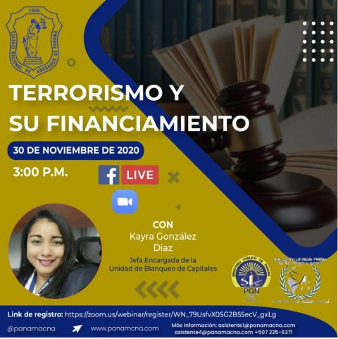 TERRORISMO Y SU FINANCIAMIENTO