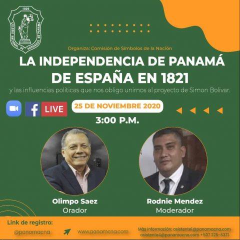 LA INDEPENDENCIA DE PANAMÁ DE ESPAÑA EN 1821
