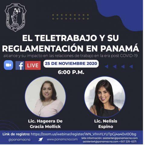 EL TELETRABAJO Y SU REGLAMENTACIÓN EN PANAMÁ