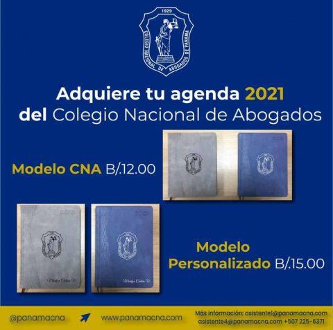 Adquiere tu Agenda 2021