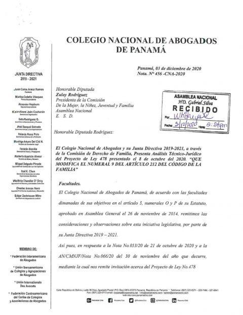 Análisis Técnico-Jurídico del Proyecto de Ley 478