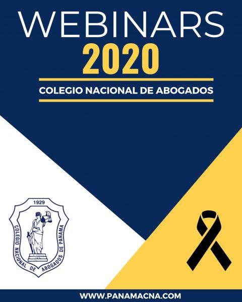 Webinars 2020 Colegio Nacional de Abogados