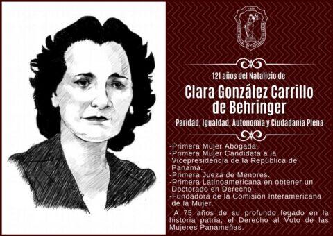 CLARA GONZÁLEZ DE BERHINGER